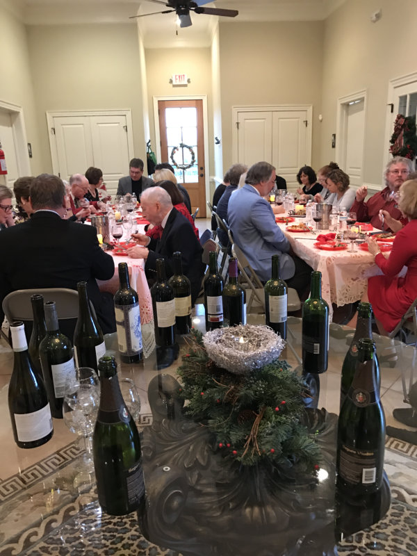 Holiday Tasting December 2016